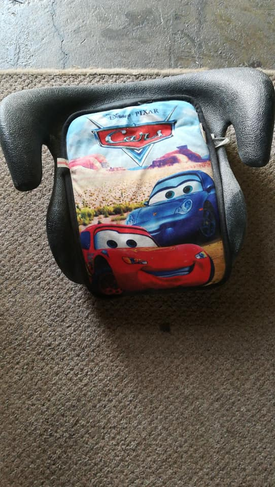 Disney Cars Booster Seat Top