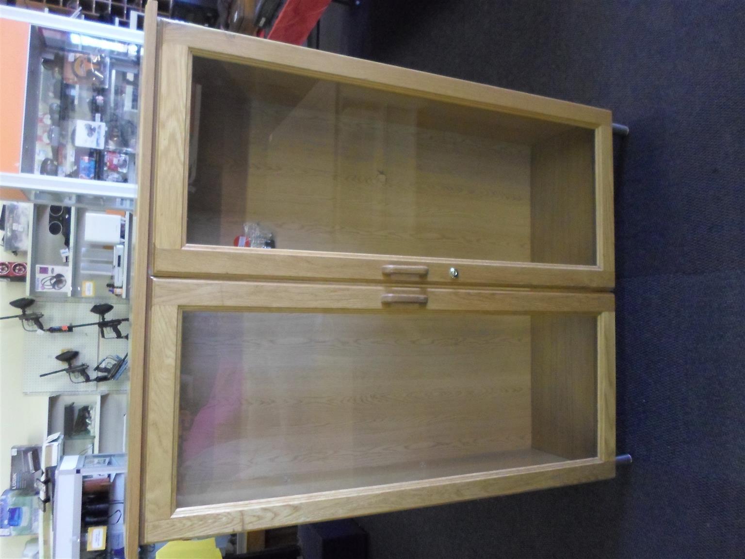Wooden Cabinet Gl Doors Junk Mail