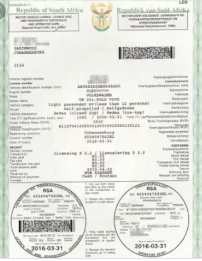 Truck and trailer licensing