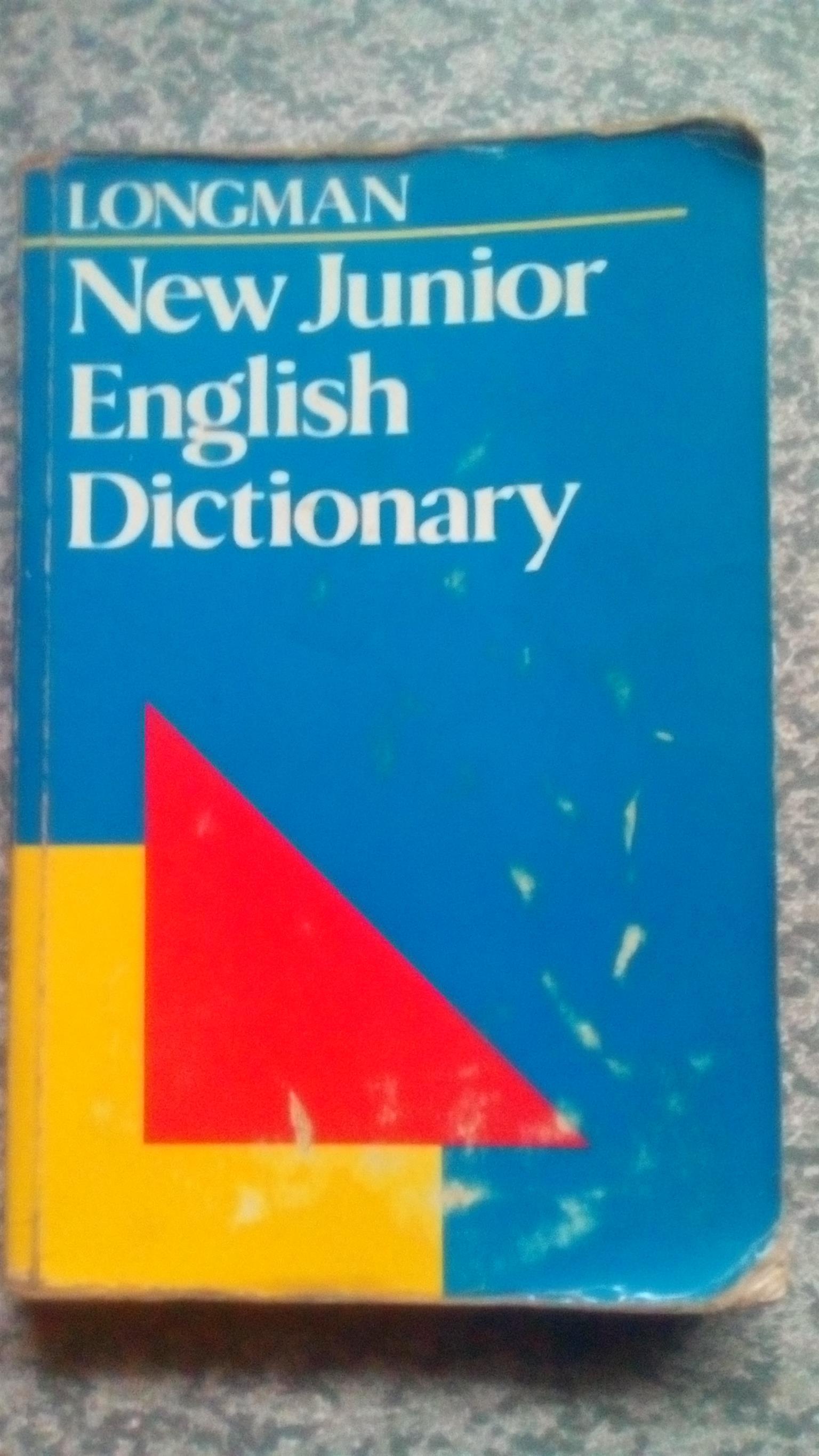 Longman New Junior English Dictionary by Della Summers