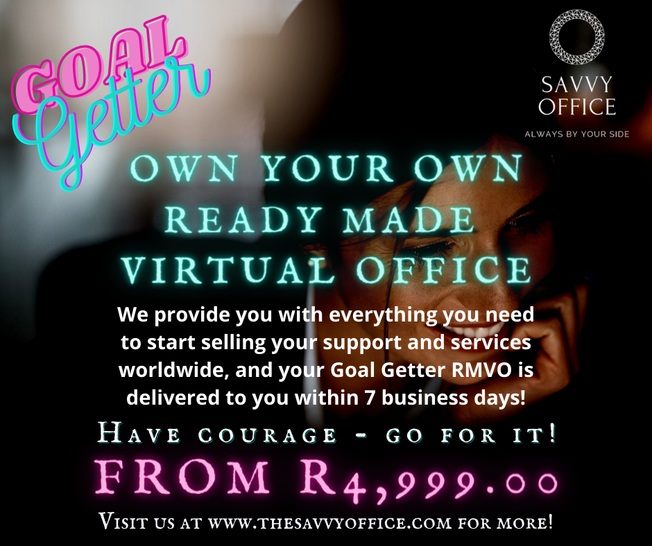 READY MADE VIRTUAL OFFICE - FOR THE GOAL GETTER