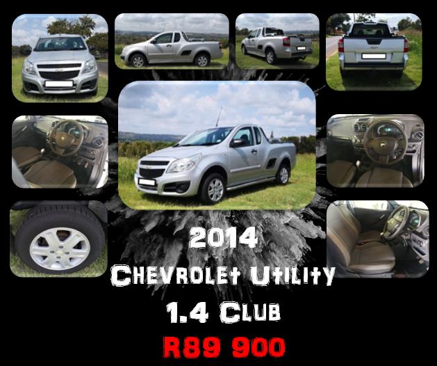 2014 Chevrolet Utility 1.4 Club