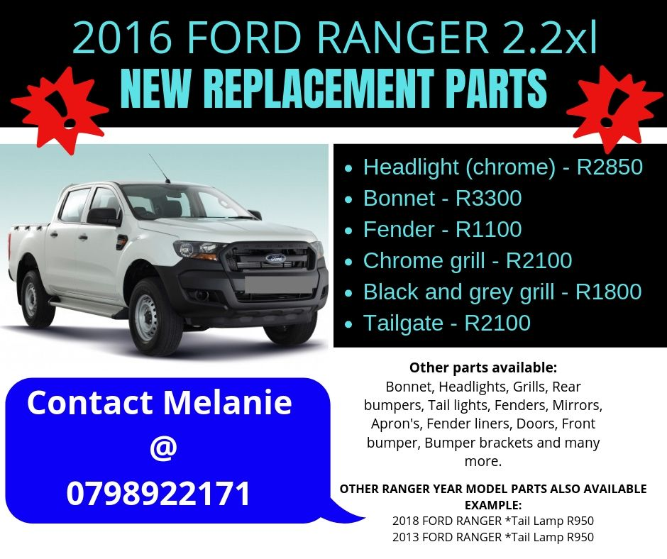 Ford Replacement Parts >> Ford Ranger New Replacement Parts For Sale