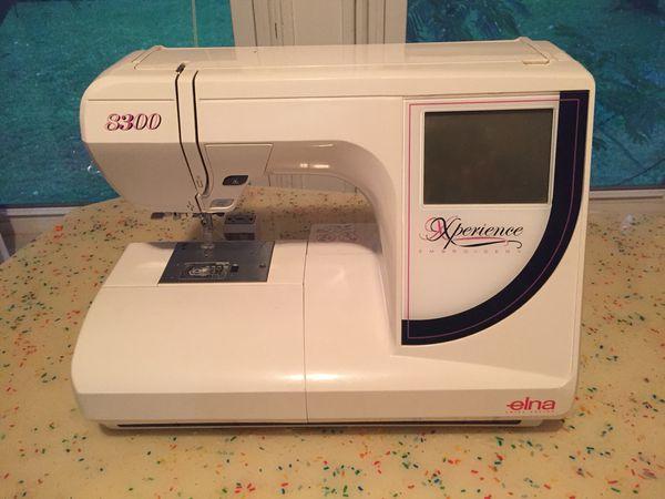 8300 Elna USB compatible embroidery machine