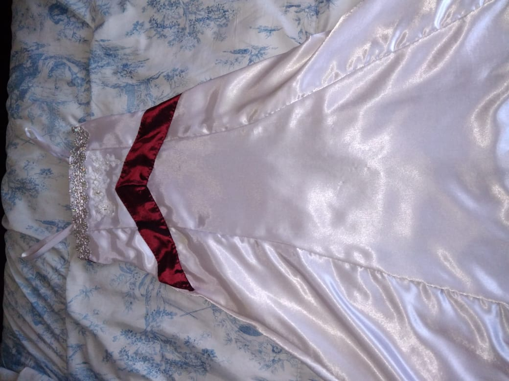 Wedding dress and mini-bride dress