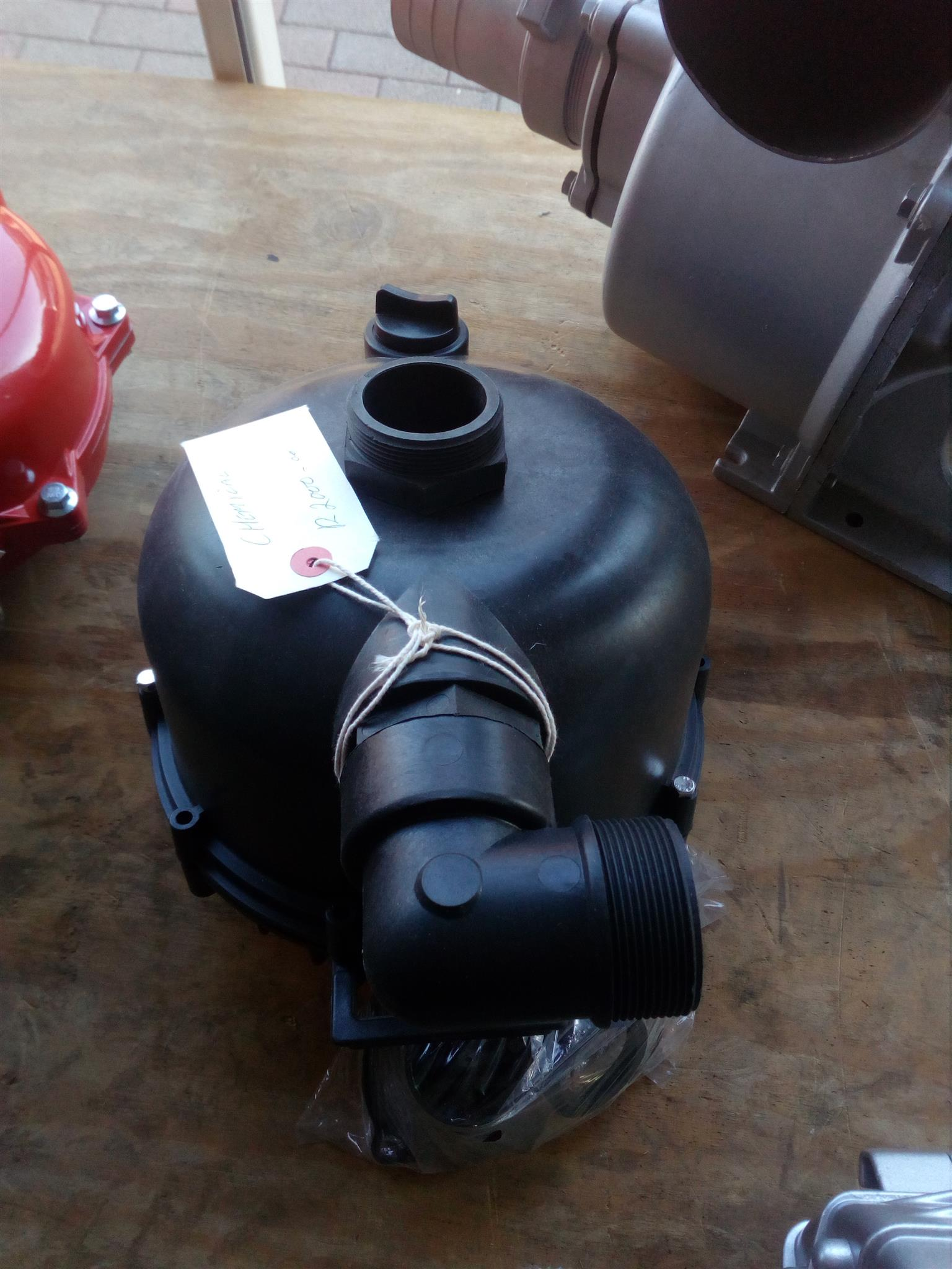 Chemical pump head only