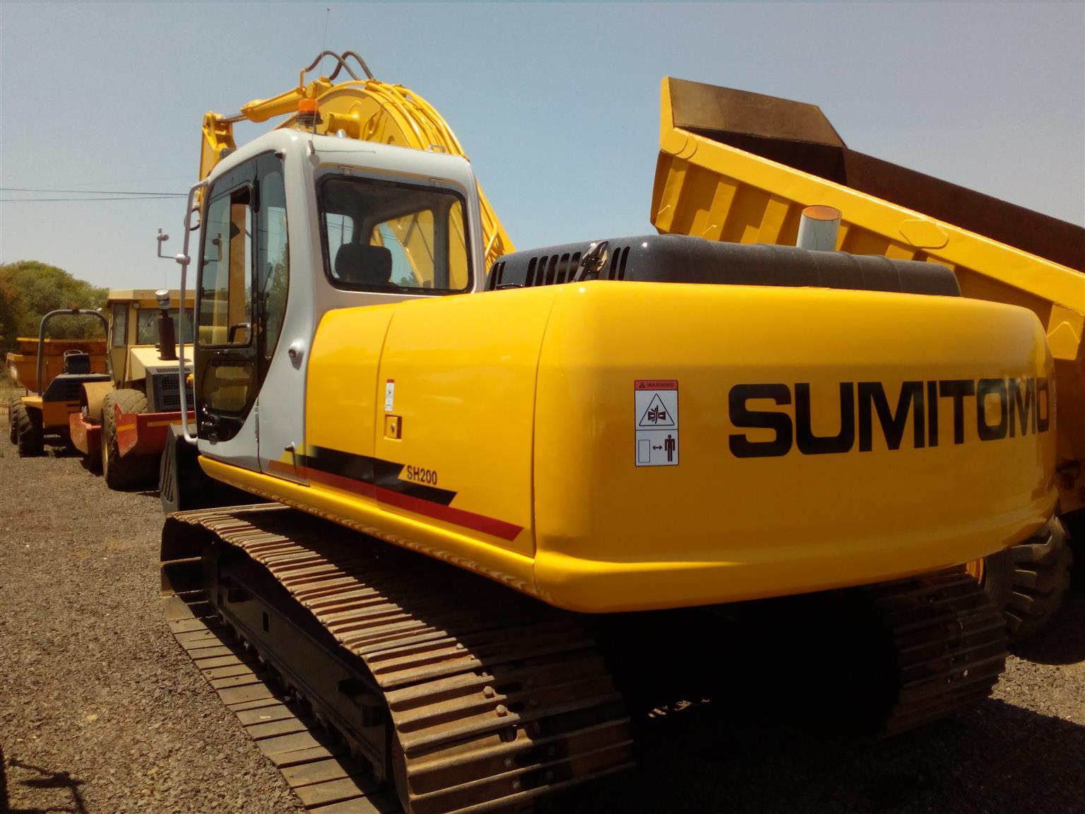 Sumitomo SH200 20 Ton Excavator