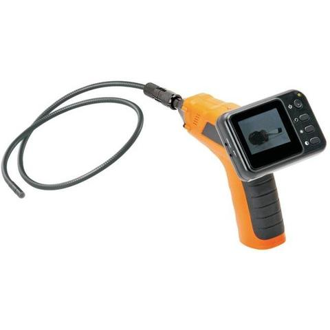 Wireless inspection camera with color LCD monitor