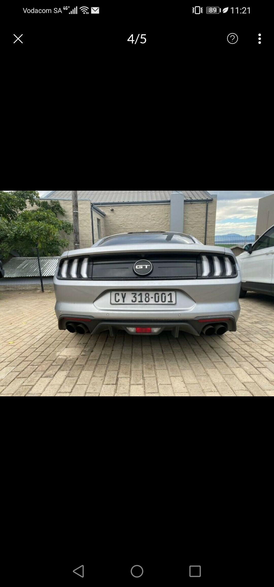 2020 Ford Mustang 5.0 GT A/T stock standard