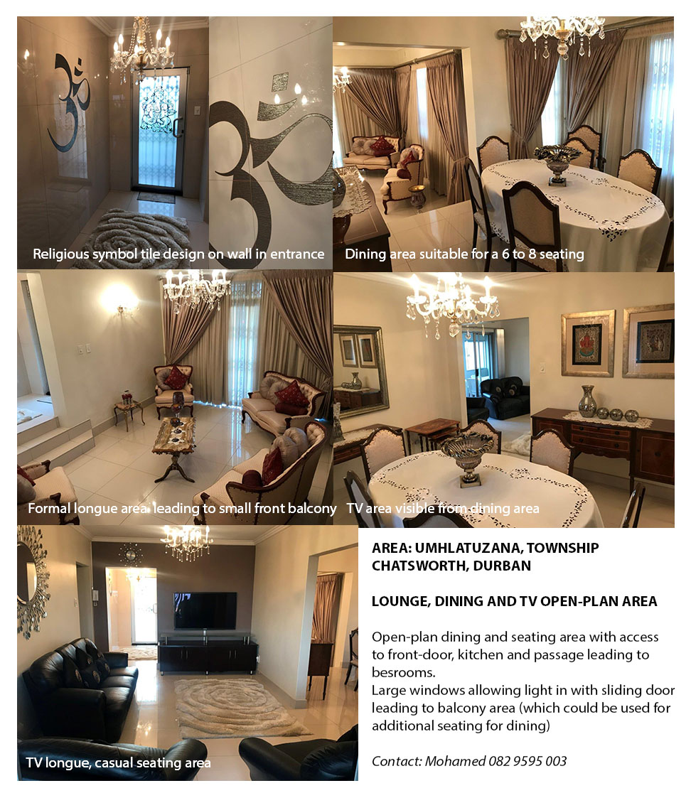 Fully furnished 4 Bedroom home with 2 studio apartments generating rental income of R6400