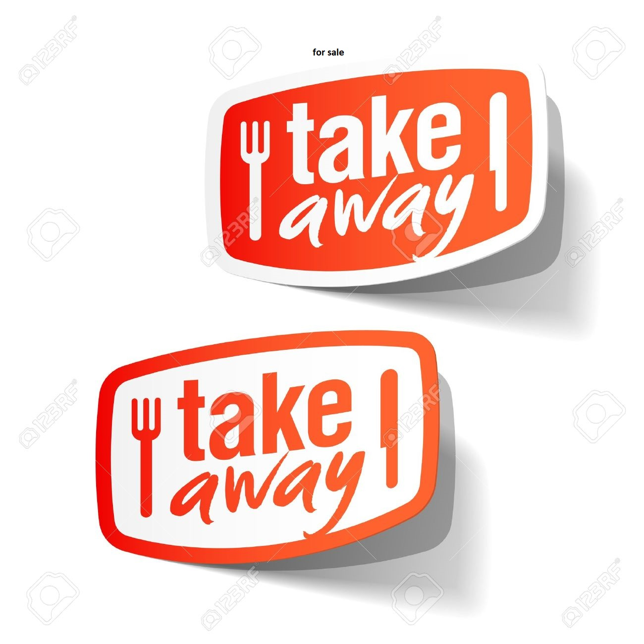 Take away for sale !