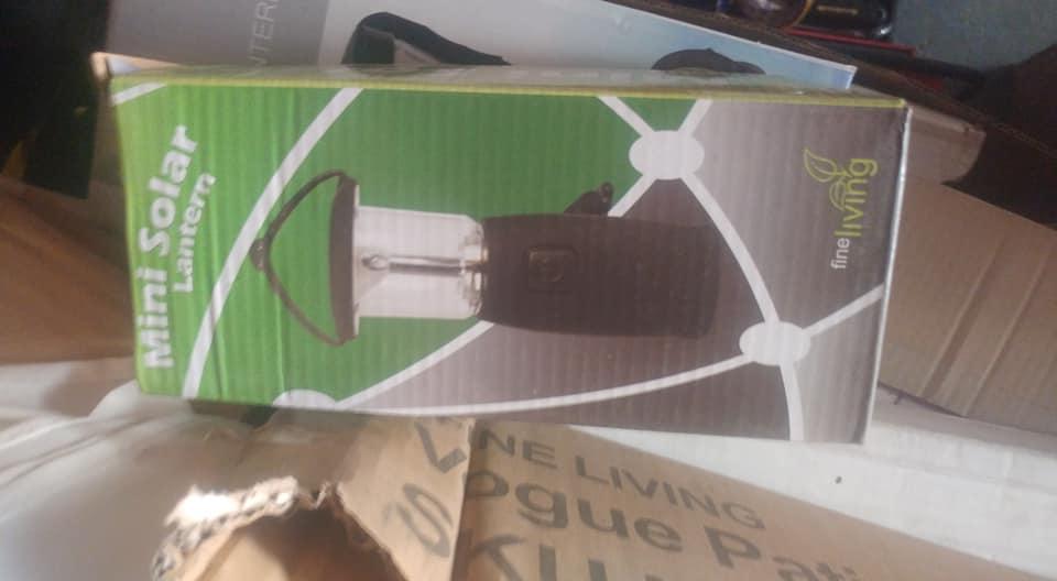 Mini solar lantern te koop