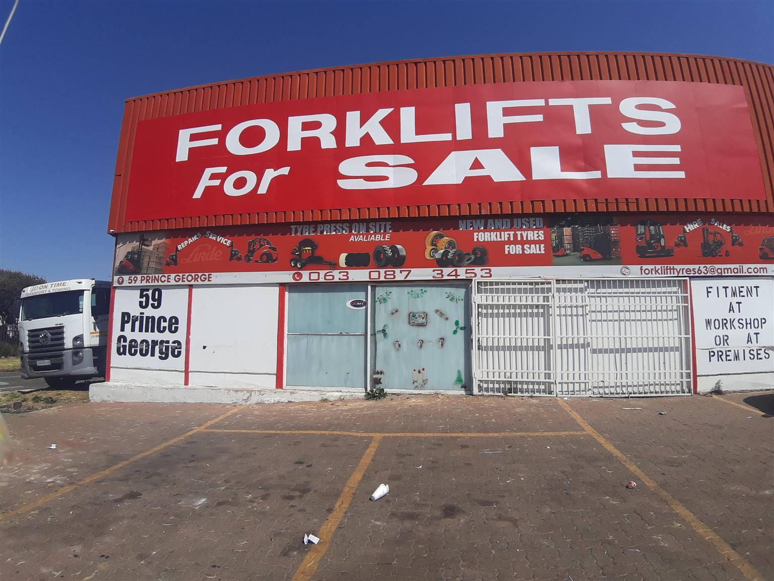 Nissan Diesel Forklift For Sale
