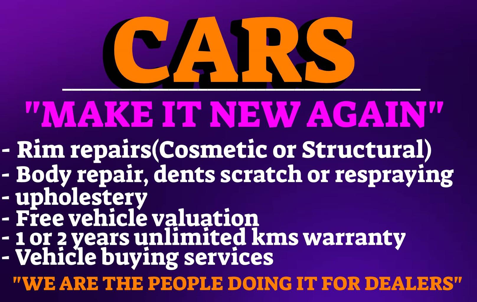Making your car new again