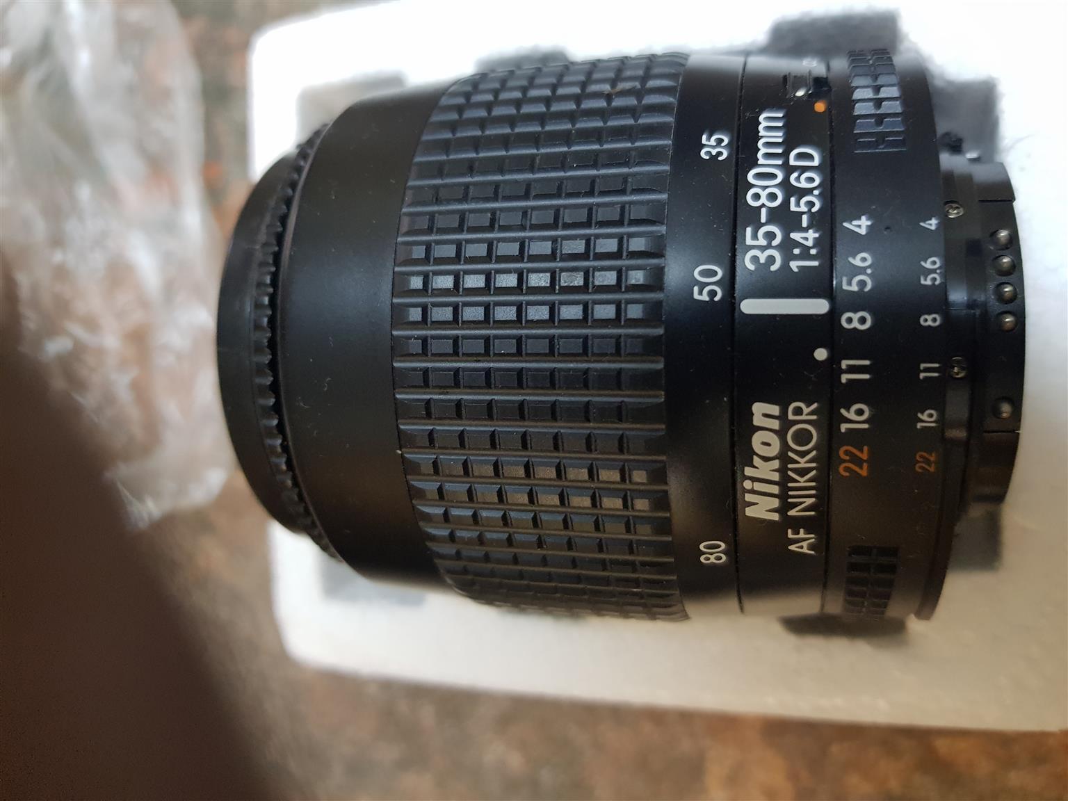 NIKON Zoom Nikkor Lens 35- 80 mm Bought in Germany