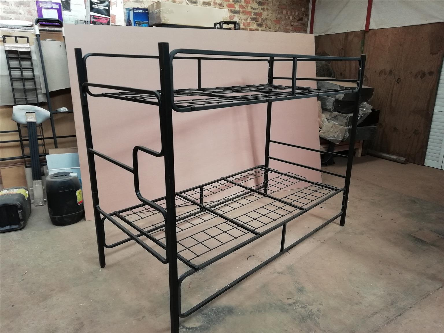 Bunk Bed-Metal-Very Strong - Guard rail all sides