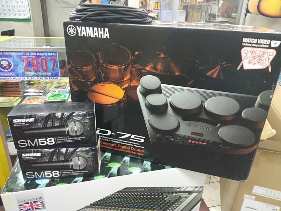 New Yamaha DD-75 Portable Digital Drums