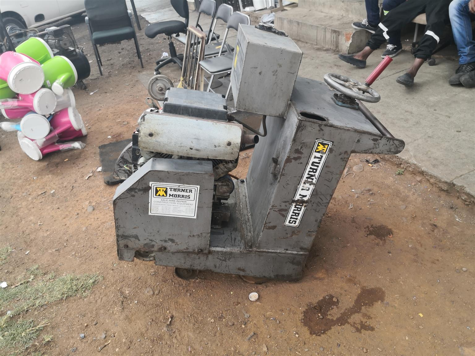 Turner morris concrete saw