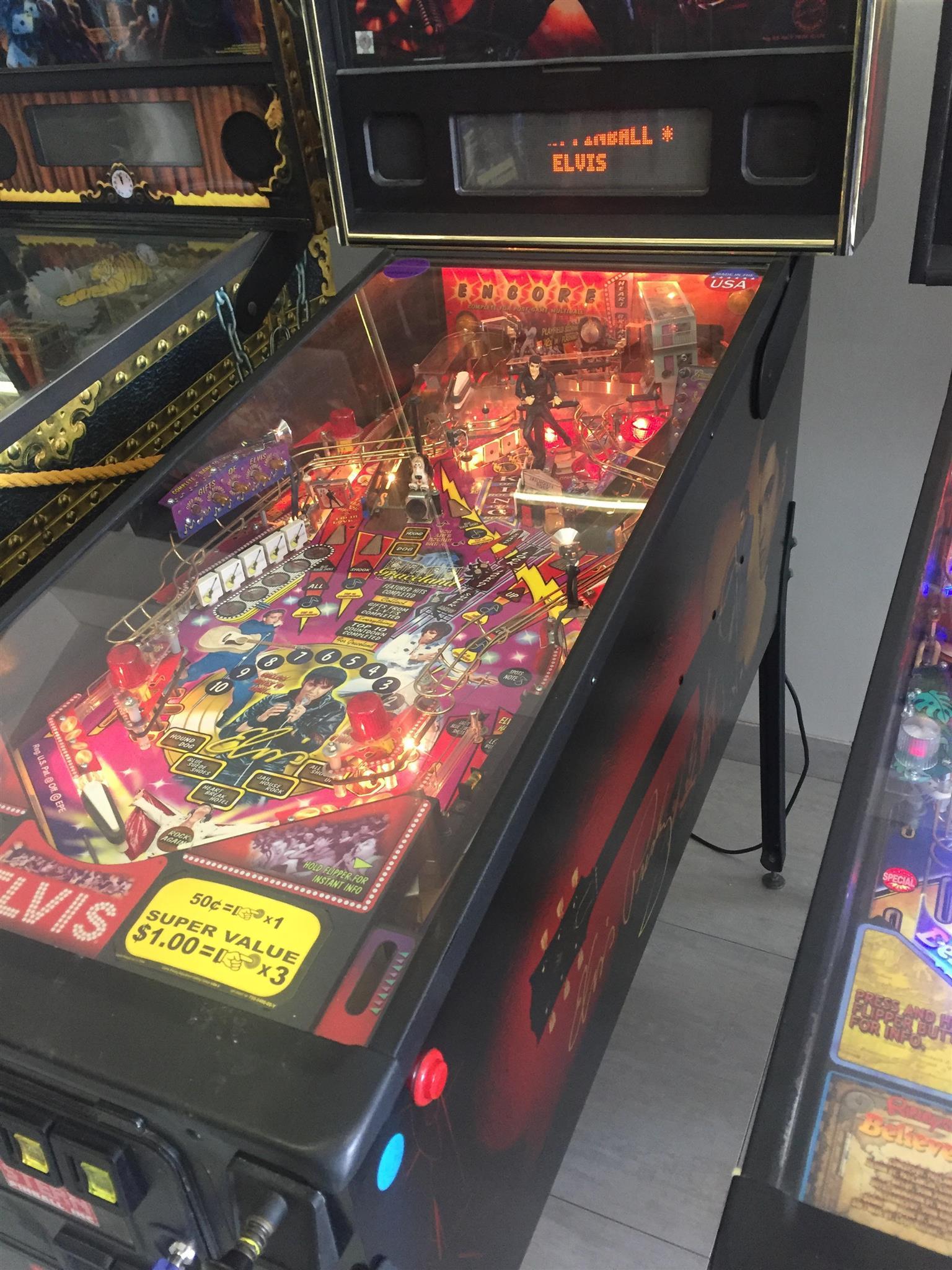 Elvis Pinball Machine for Sale, a pinball machine by Stern