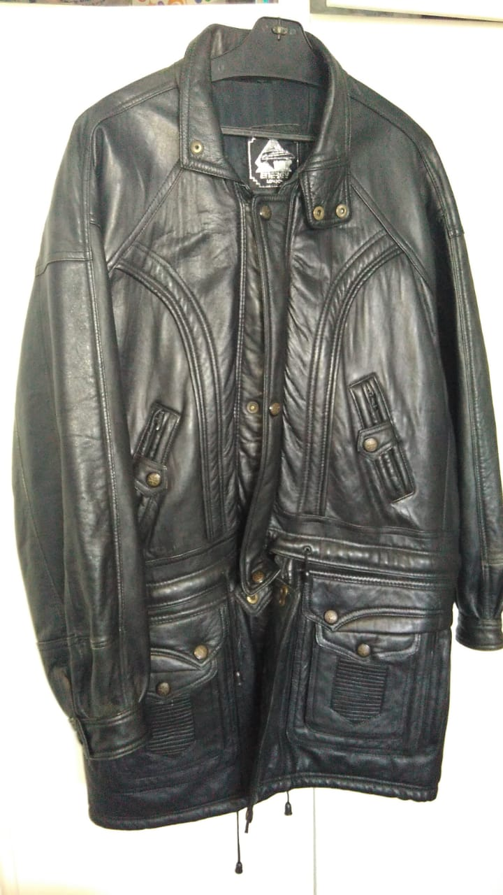 Energy London Genuine Leather Jacket / Coat