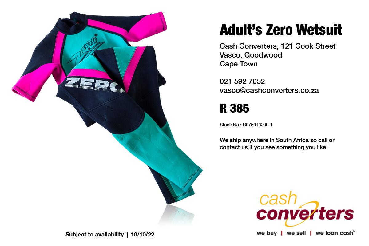 Adult's Zero Wetsuit