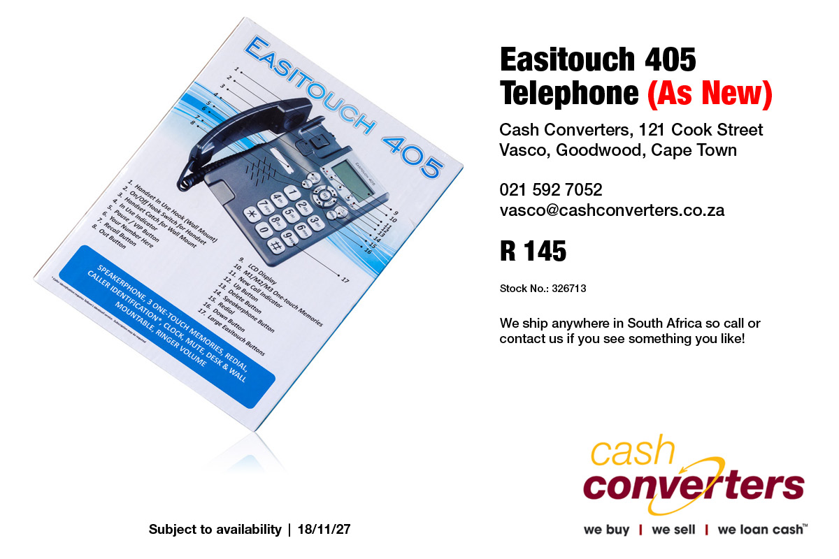 Easitouch 405 Telephone (As New)