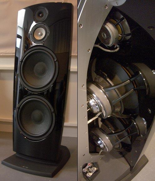 JAMO REFERENCE R907 TOWER LOUDSPEAKERS