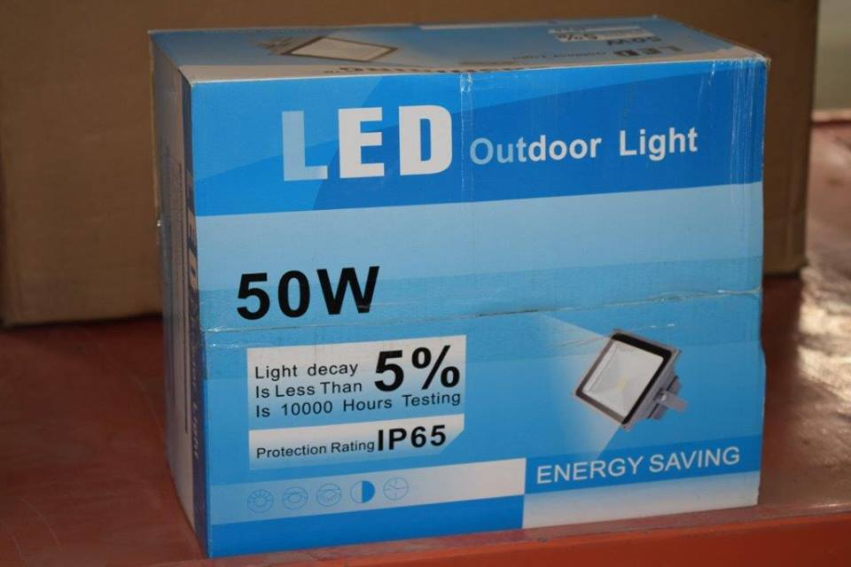 50W LED outdoor light
