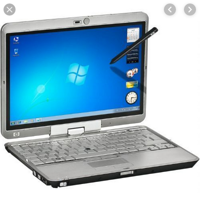 Laptop Hp 2730p 4gig Ram Windows 7