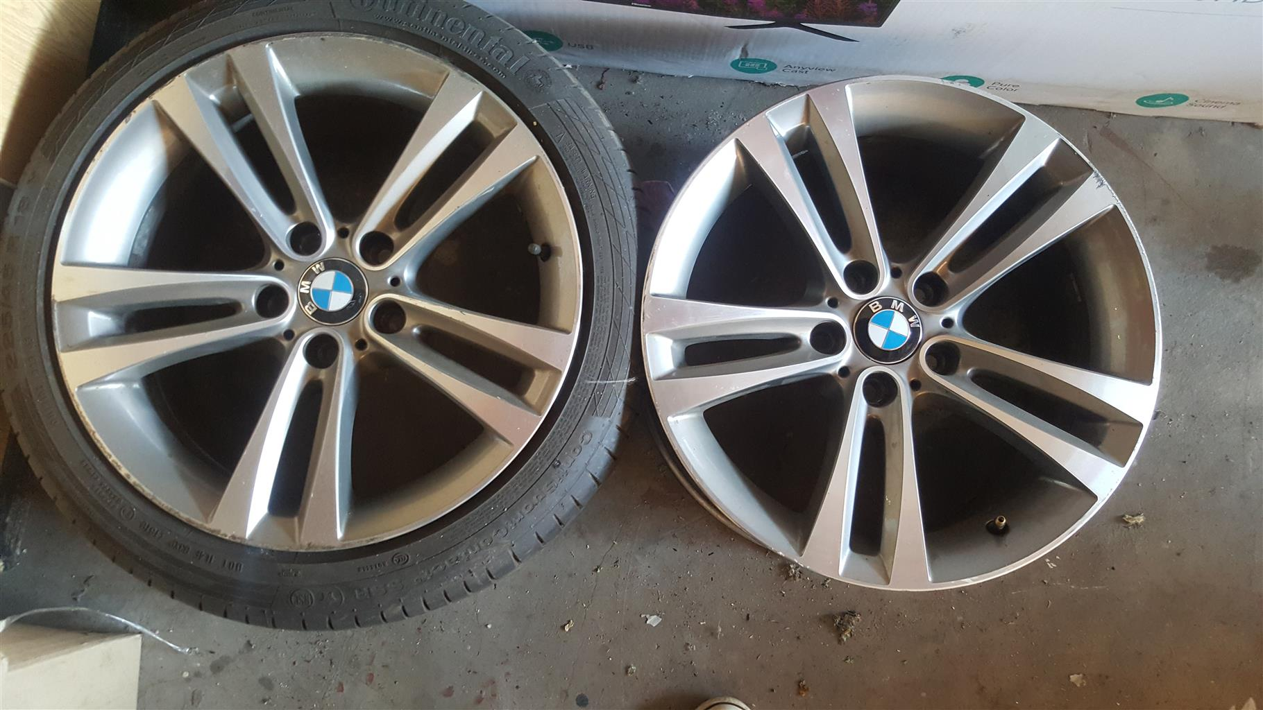 Bmw F30 Rims And Tyres Junk Mail