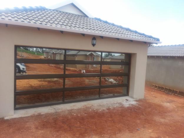 Glass And Aluminium Garage Doors South Africa Glass Door Ideas