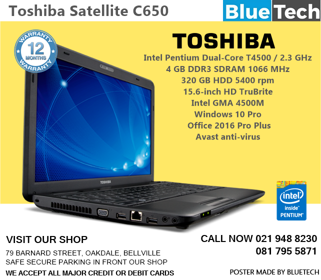 For satellite c650d drivers vga toshiba