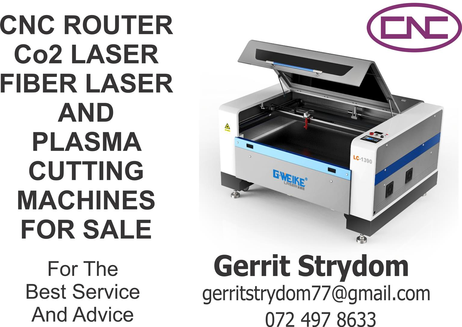 Laser Router Plasma Fiber Cutting Machine