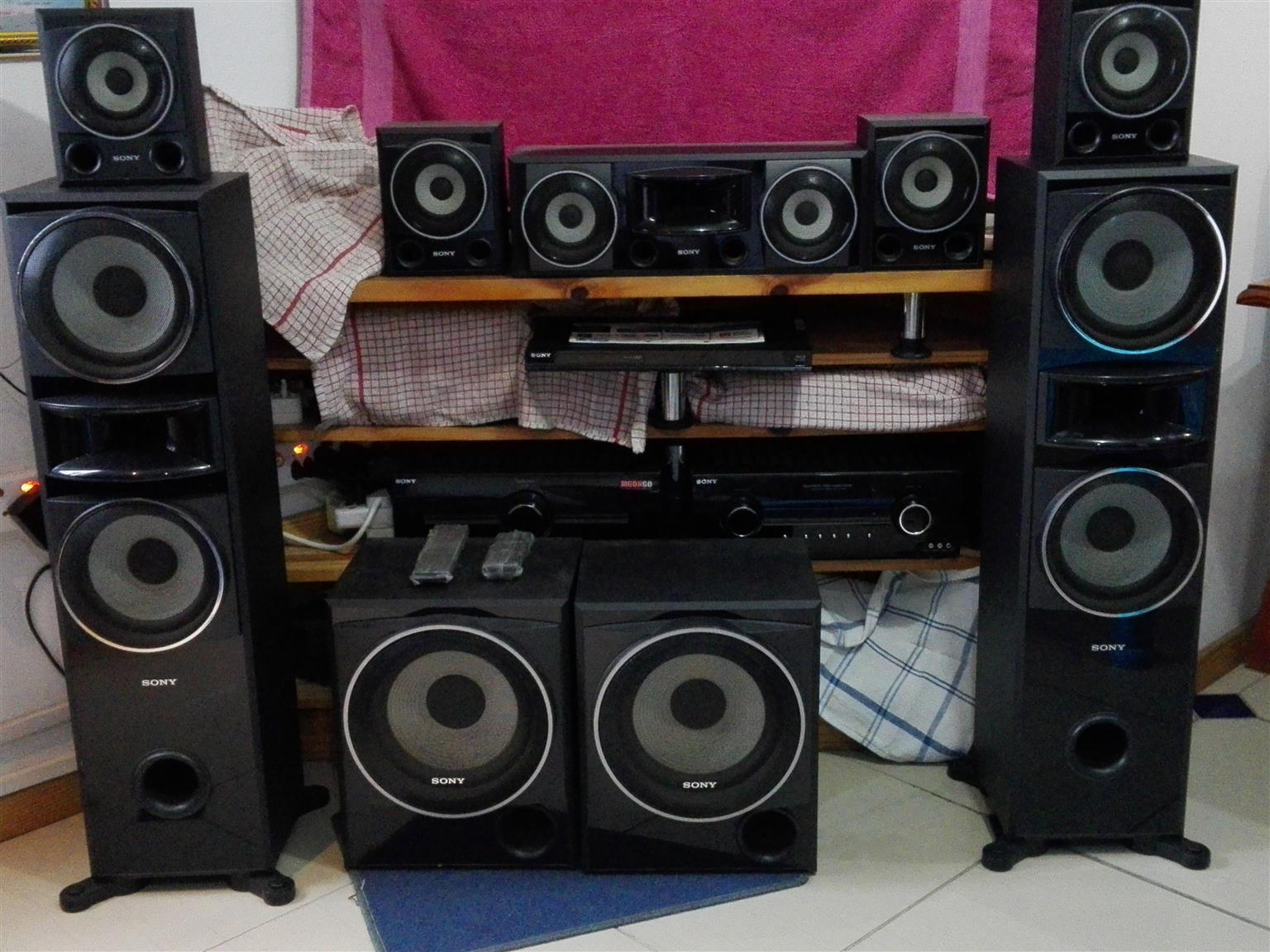 sony 7 2 surround sound system junk mail. Black Bedroom Furniture Sets. Home Design Ideas