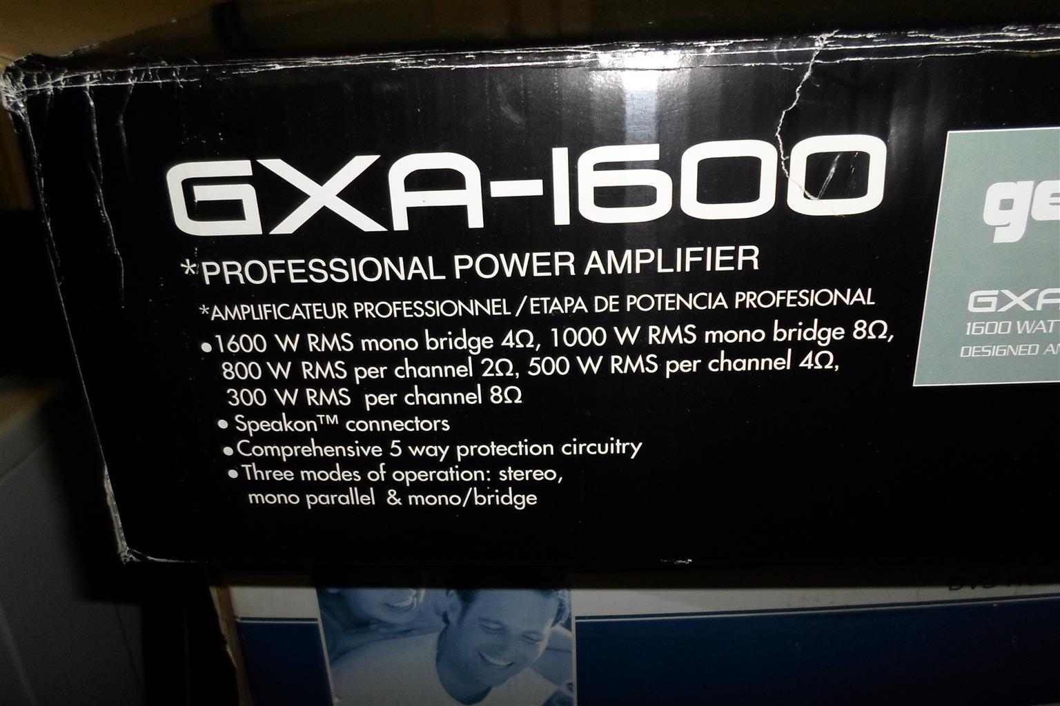 Gemini GXA-1600 Amplifier