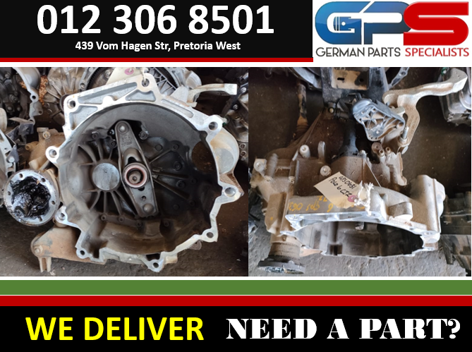 VW POLO6 1.2 TSI MANUAL PETROL 2010 USED GEARBOX FOR SALE