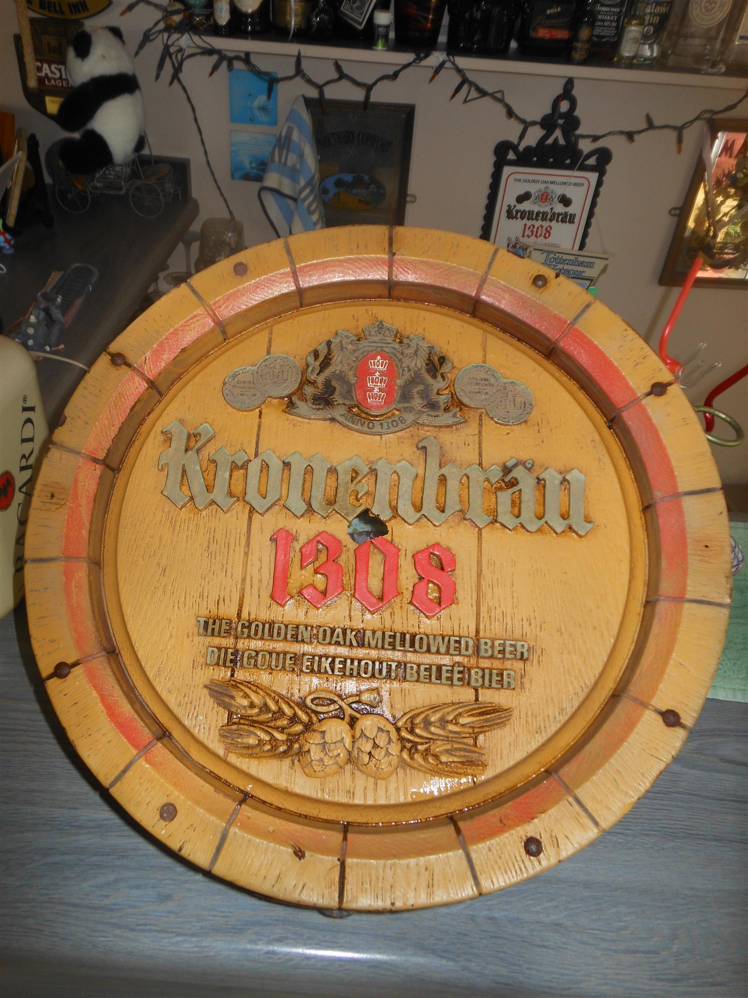 Vintage Kronenbrau 1308 Barrel End