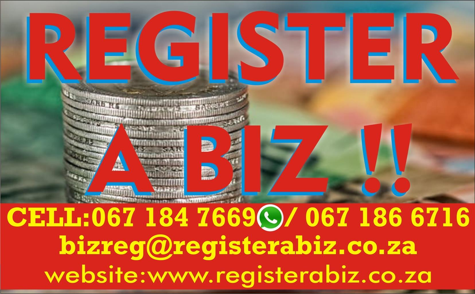 START YOUR OWN BUSINESS FOR R1500 & RECEIVE GOVT TENDERS