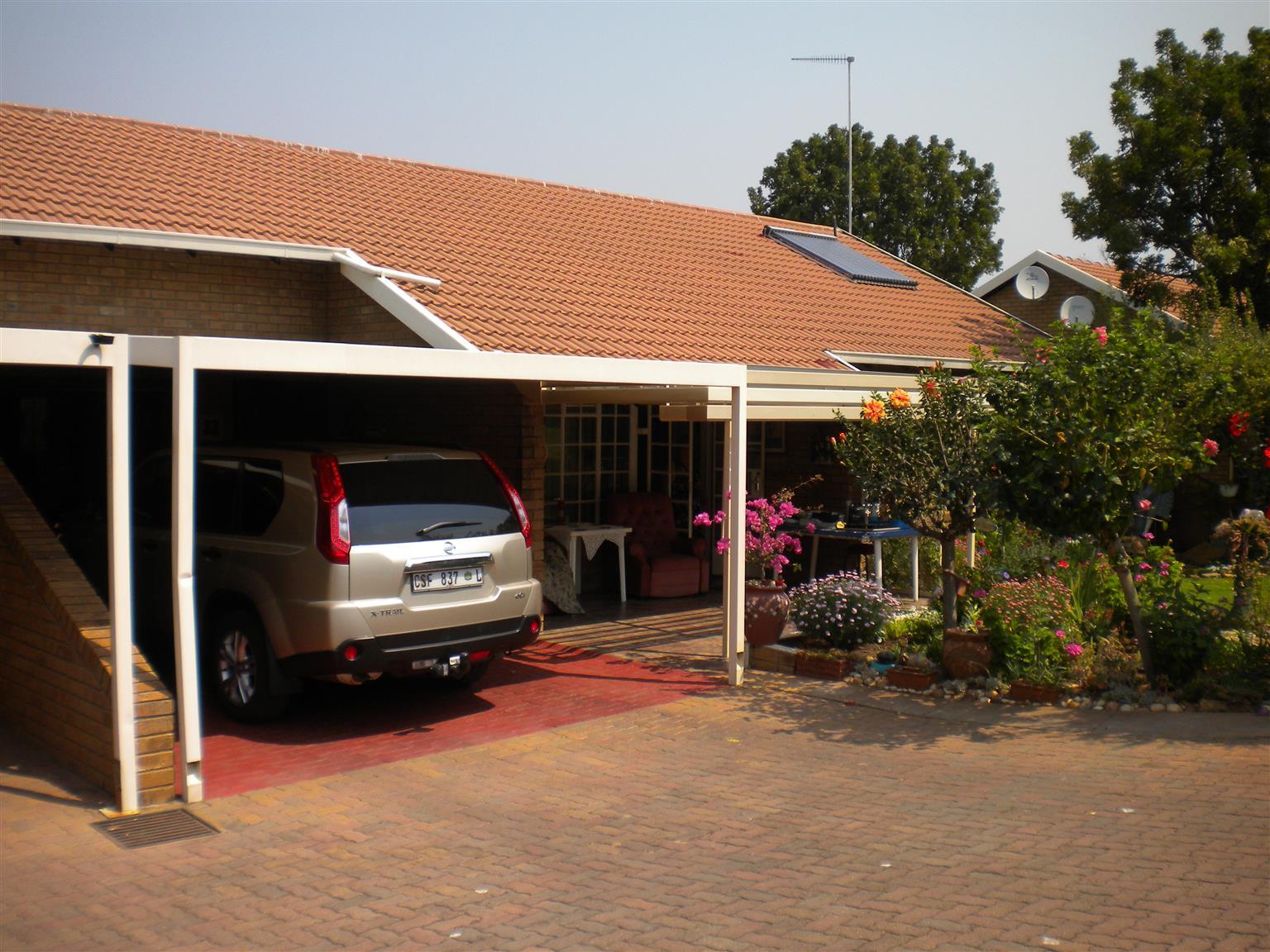 retirement home for sale. Bela Bela.