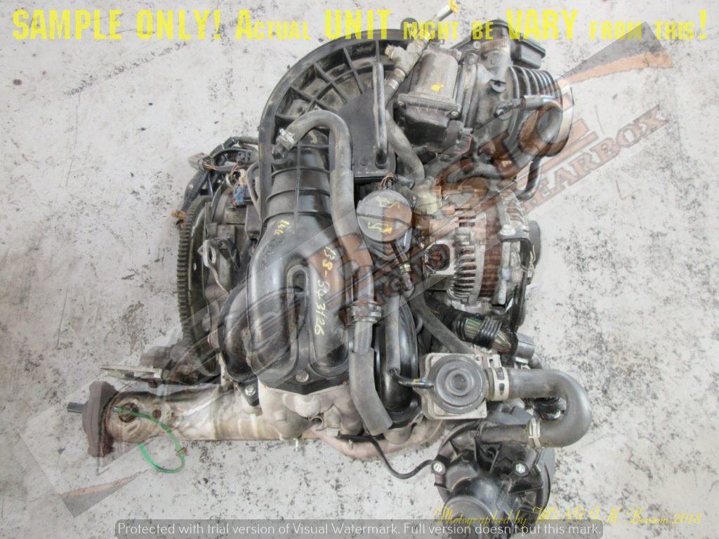 MAZDA RX8 -13B MSP 1 3L ROTARY Engine -6 POTS (HIGH