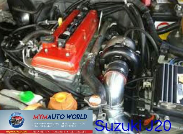 SUZUKI VITARA/GRAND VITARA 2 0L 16V J20A engine