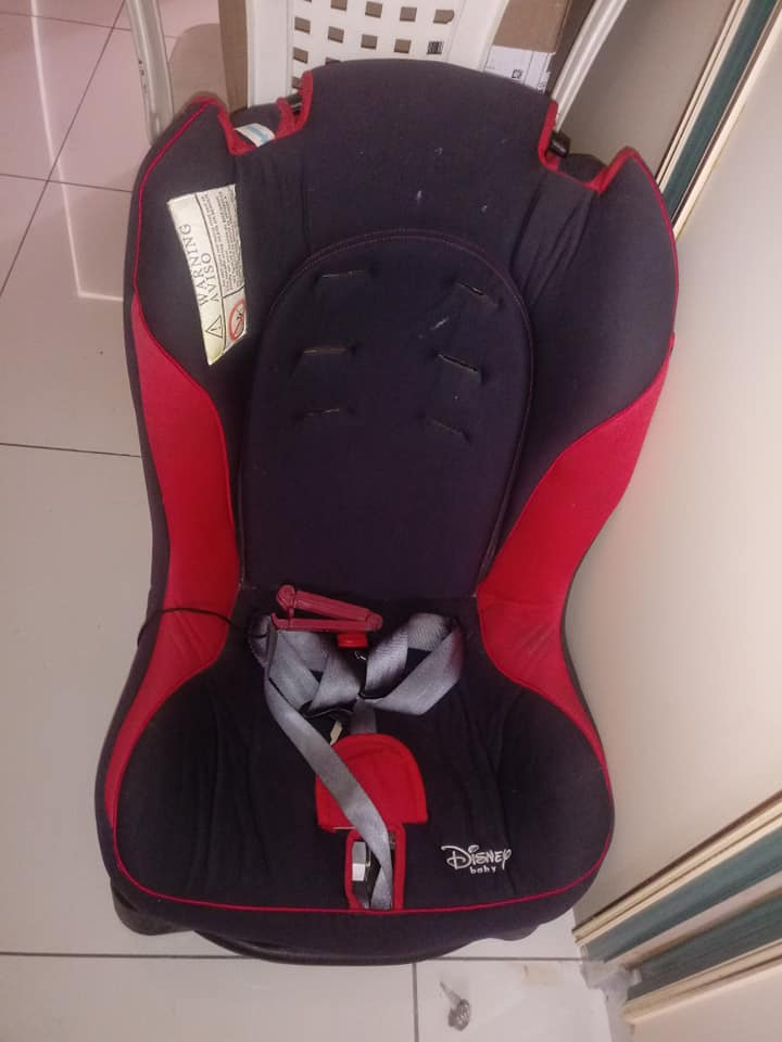 Red Disney Car Seat