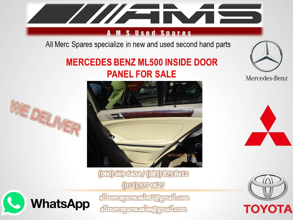 MERCEDES BENZ ML 500 INSIDE DOOR PANEL FOR SALE