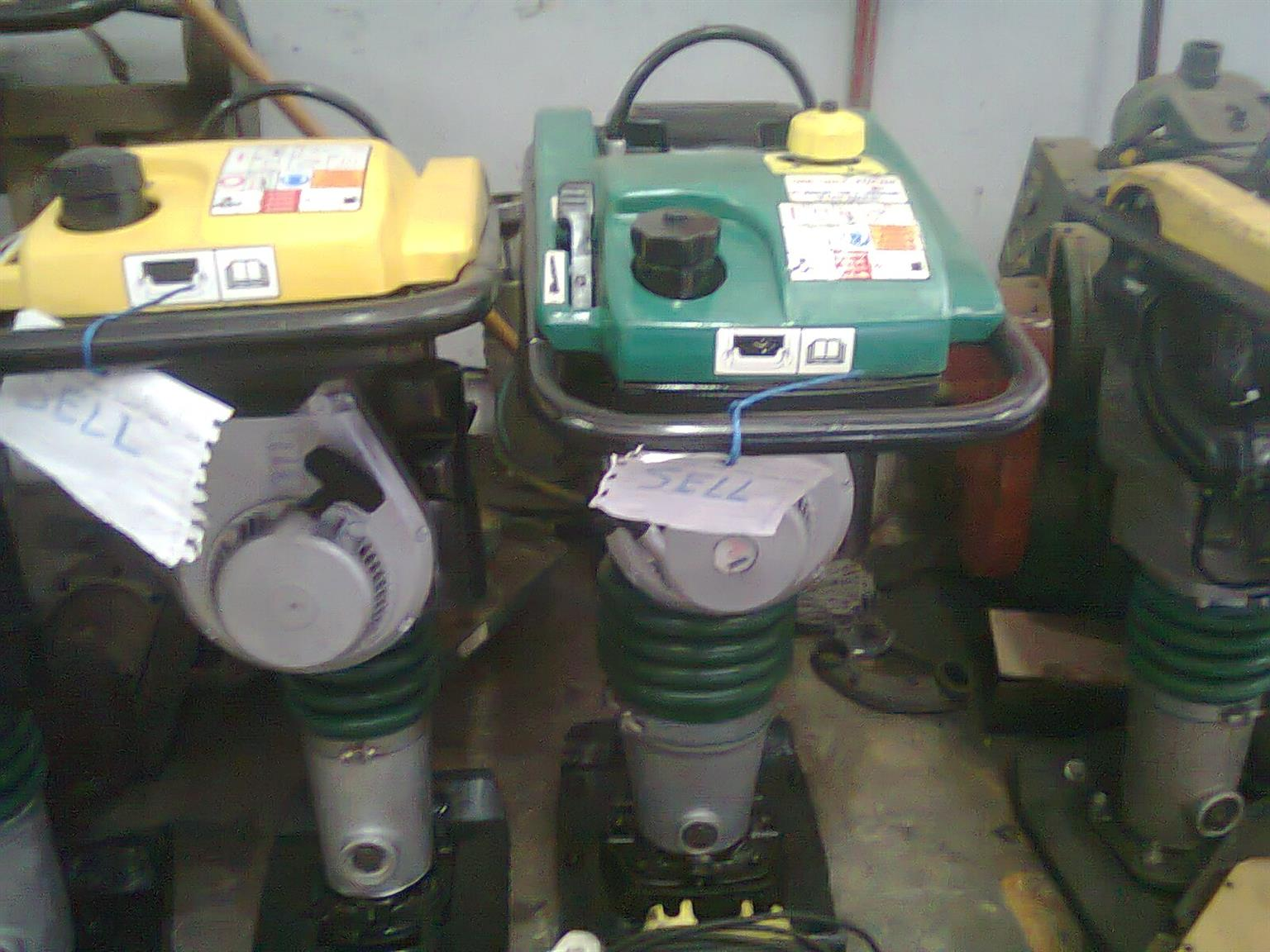 Vibrating Rammer Repairs 4 strokes and 2 strokes