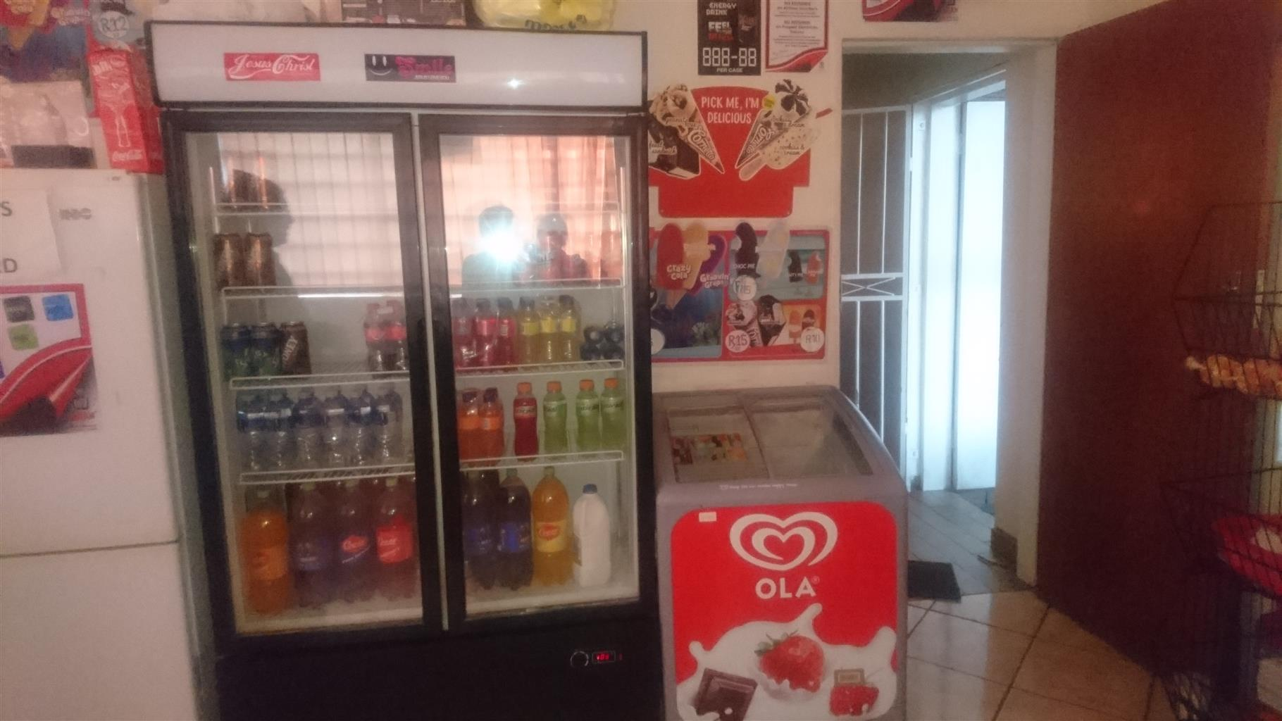 Refrigeration for cold drink and ice cream