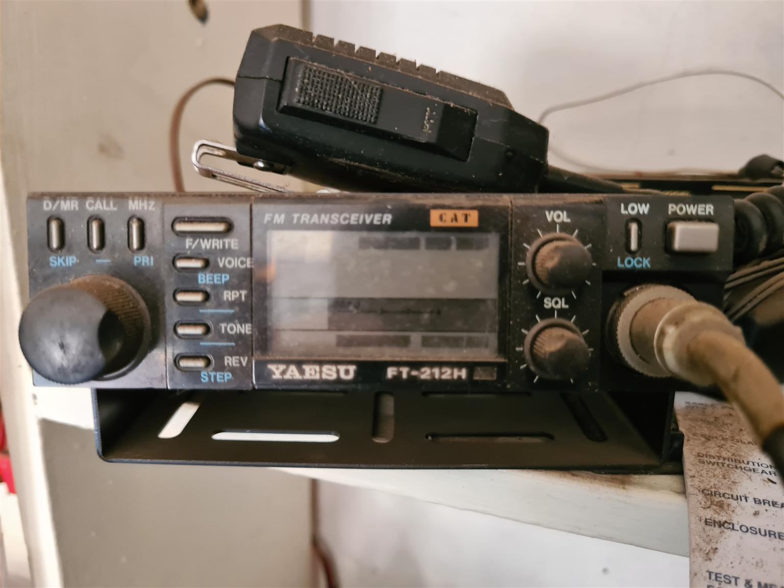 Yaesu FT-212H Transceiver 2m