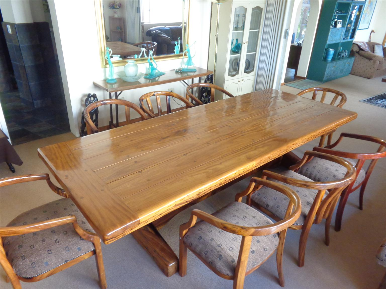 Board Room Table &  8 Chairs