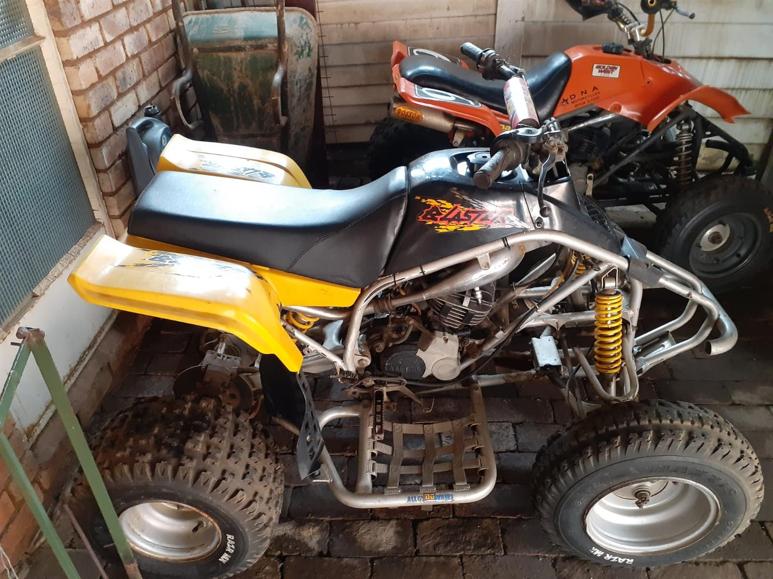 Two quad bikes in very good condition.For both of them R20,000 Contact me
