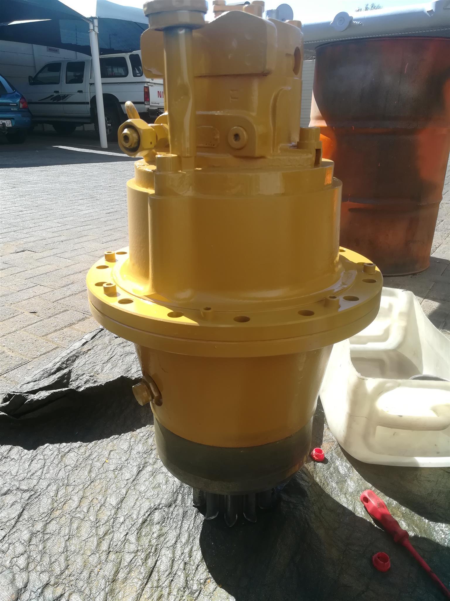 Liebher Swing motor