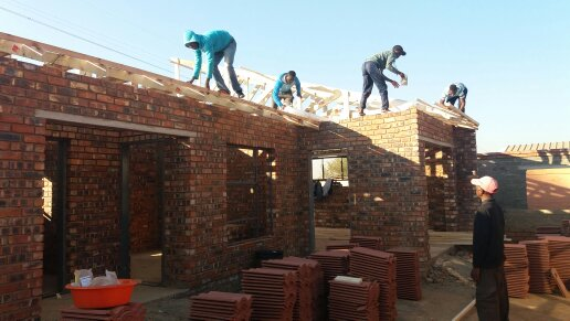 Building, roofing, plastering, paving